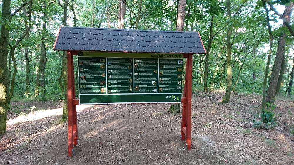 Lesy ČR stezka Klášterec